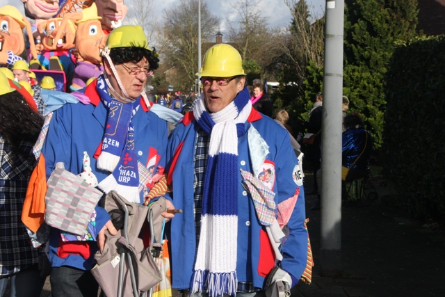 Grote optocht 11-2-2018